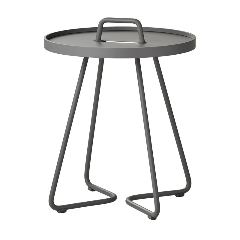 Cane-line On-the-move table, XS, light grey