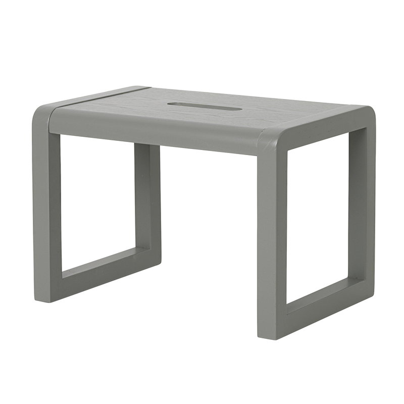 Ferm Living Little Architect stool, grey