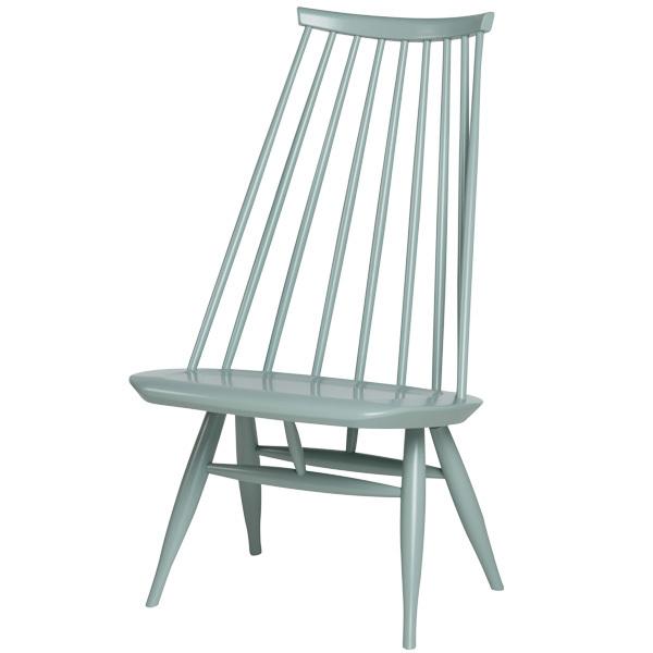Artek Mademoiselle lounge chair, sage green