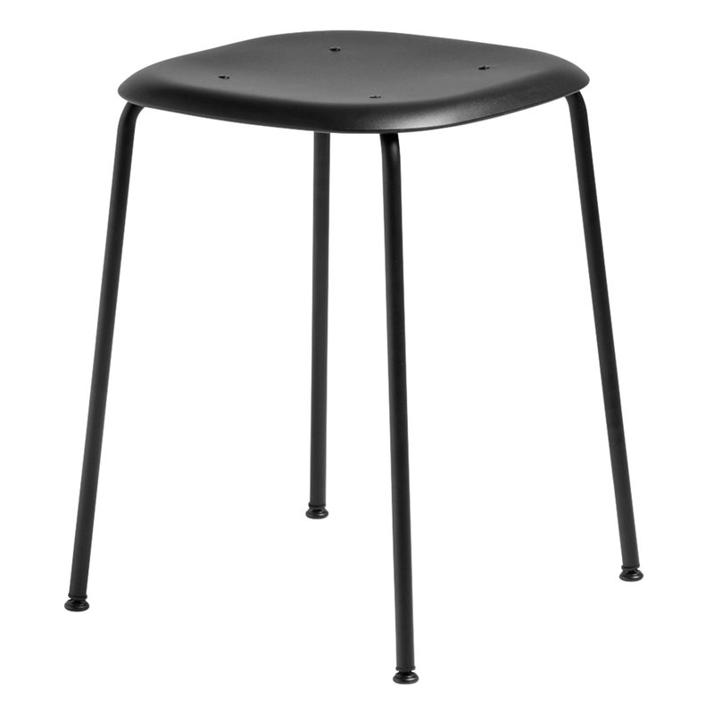 Hay Soft Edge P70 stool, black