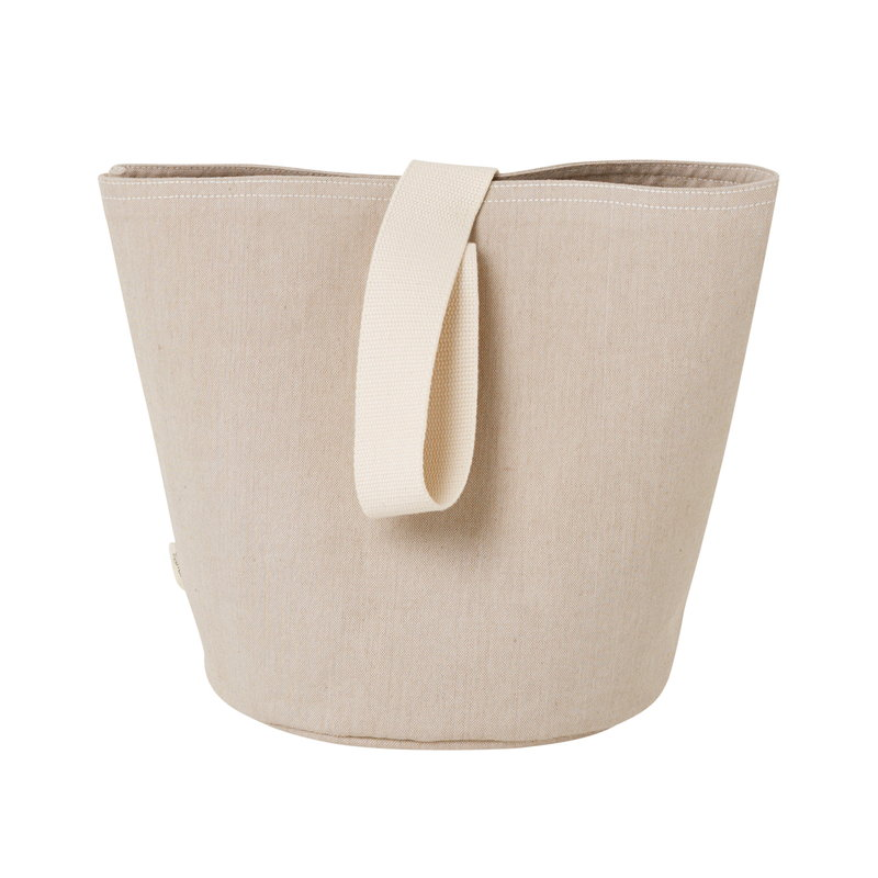 Ferm Living Chambray basket, sand, small