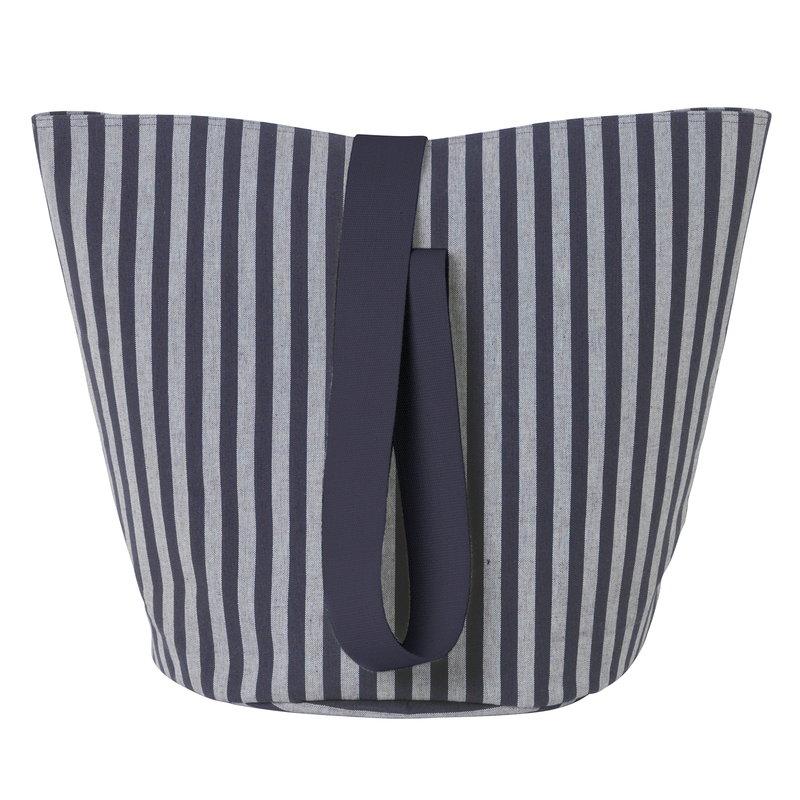 Ferm Living Chambray basket, striped, medium