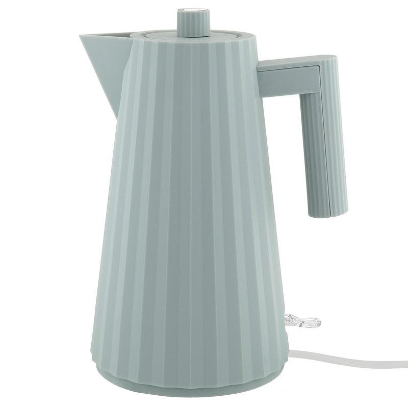 Alessi Bollitore elettrico Plissé, grigio