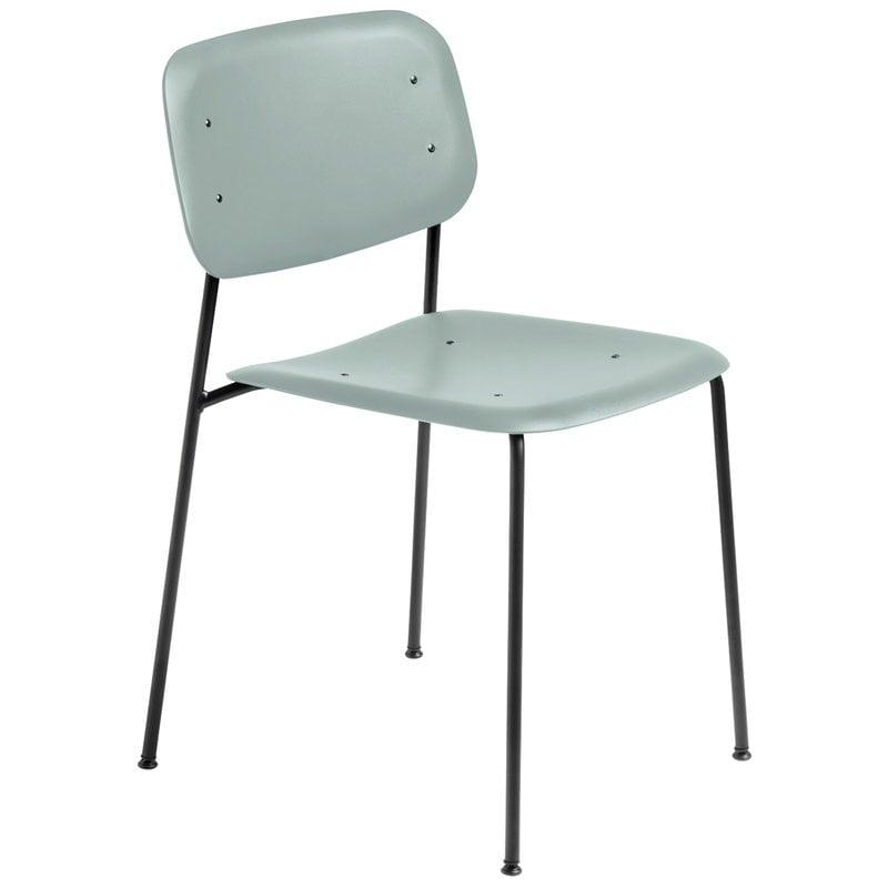 Hay Soft Edge P10 tuoli, musta - dusty green