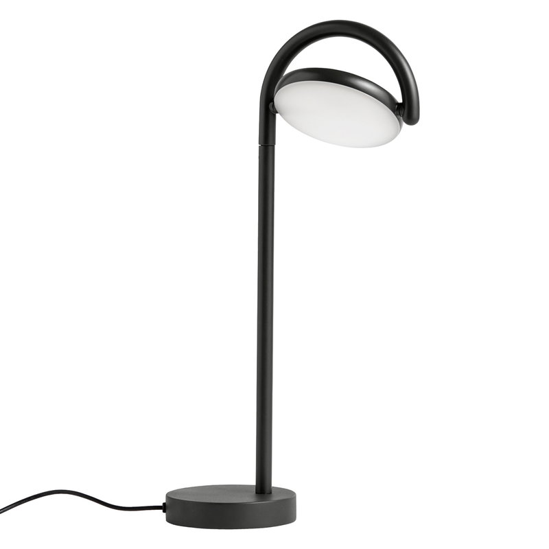 Hay Lampada da tavolo Marselis, nera