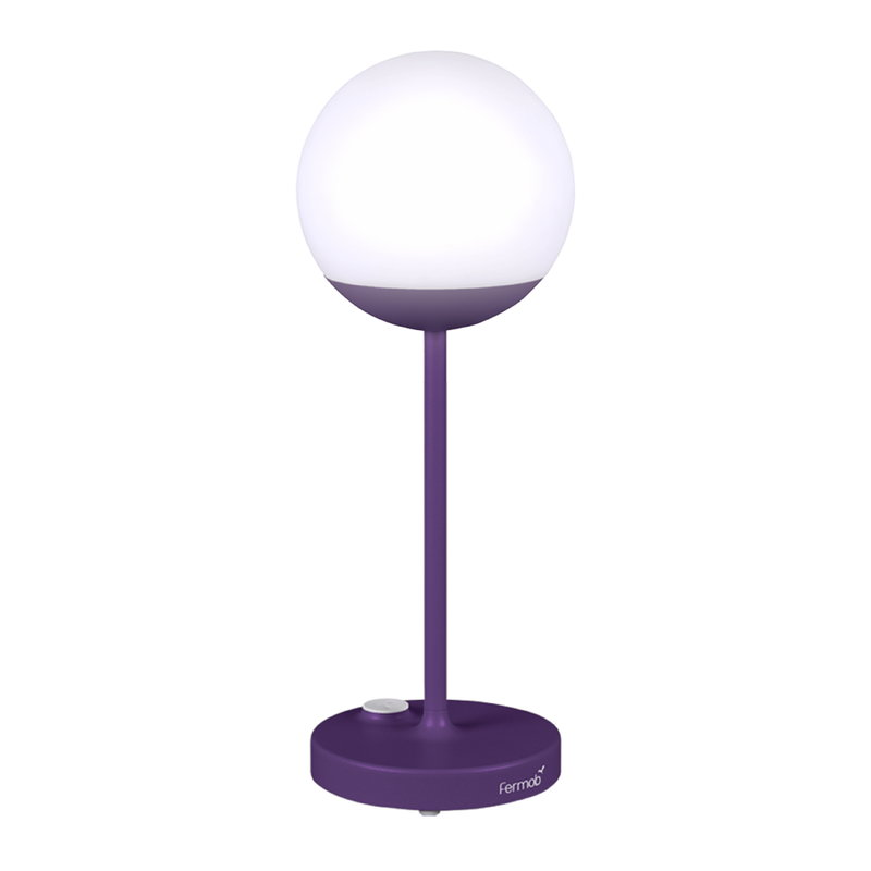 Fermob mooon table lamp aubergine finnish design shop mooon table lamp aubergine mozeypictures Gallery