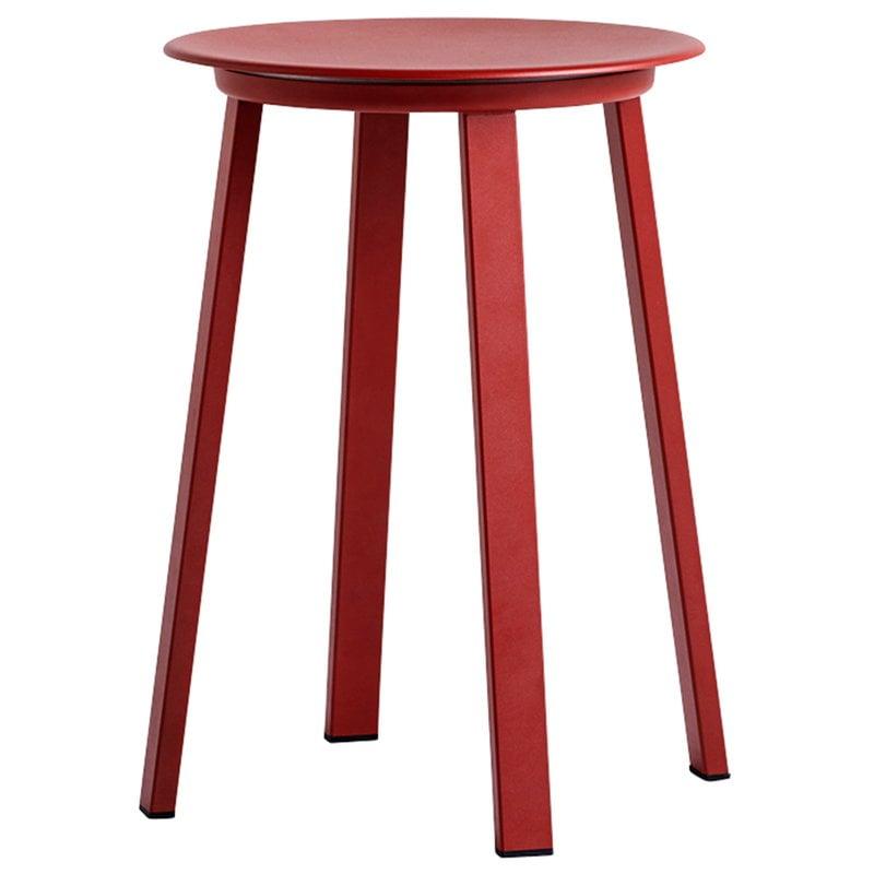 Hay Revolver stool, red