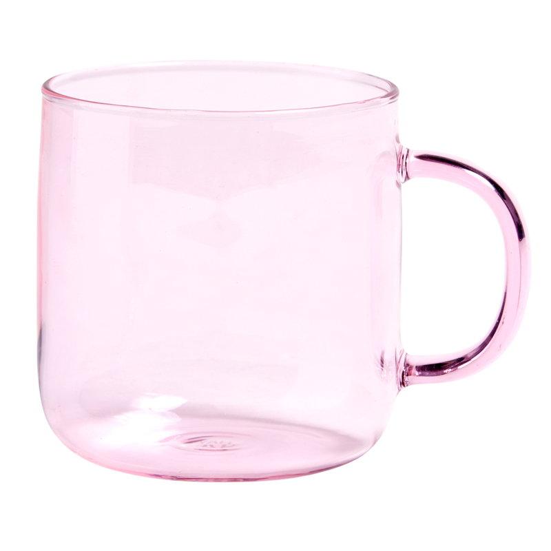 Hay Tazza in borosilicato, rosa