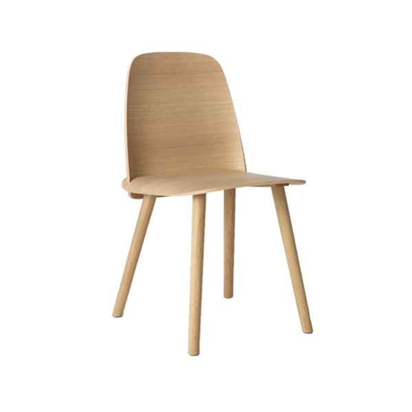 Muuto Nerd chair, natural oak
