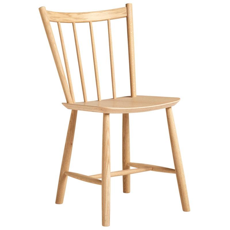 Hay J41 chair, matt lacquered oak