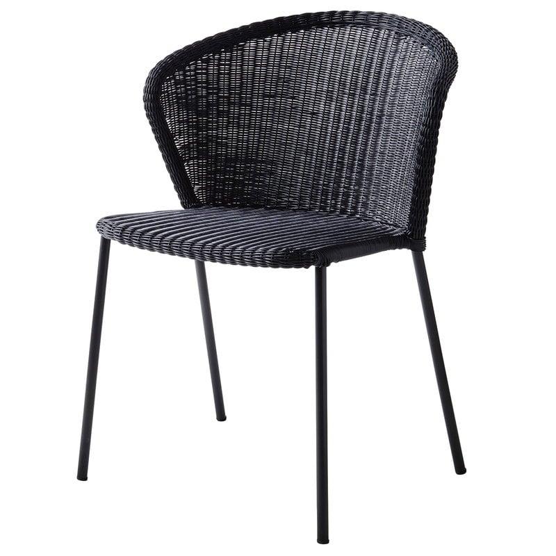 Cane-line Lean chair, black