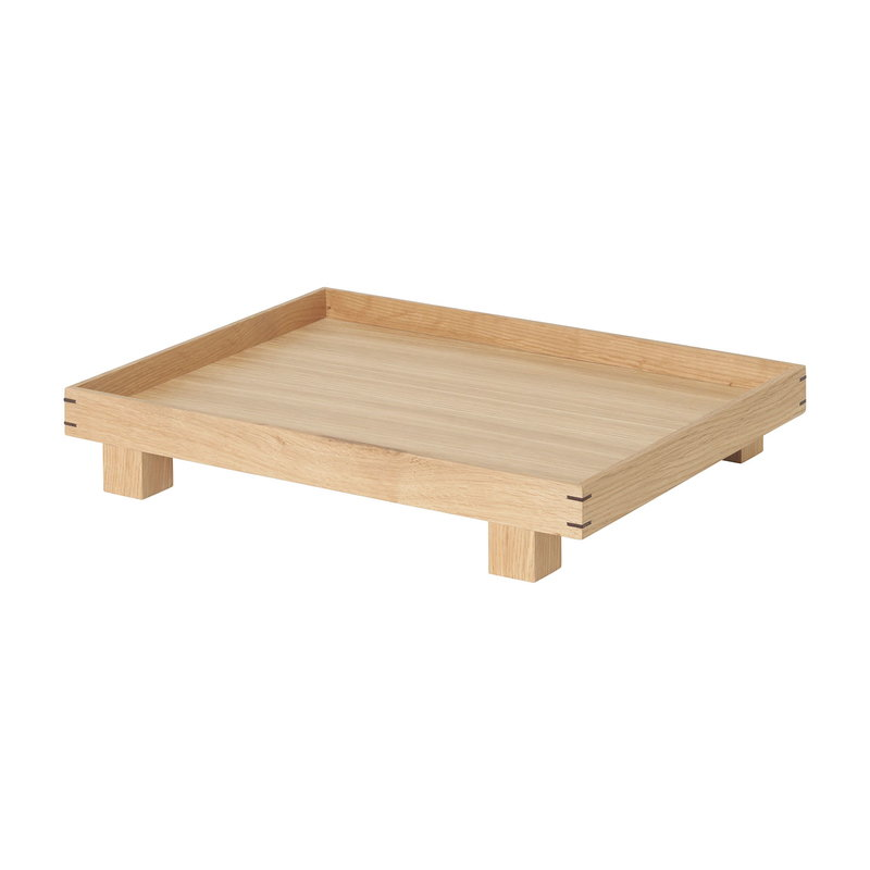 Ferm Living Bon tray, small, oak