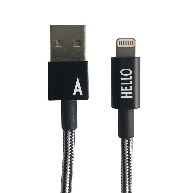 Design Letters MyCable iPhone cable, A-Z