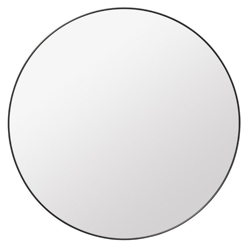 Gubi Gubi mirror, black brass