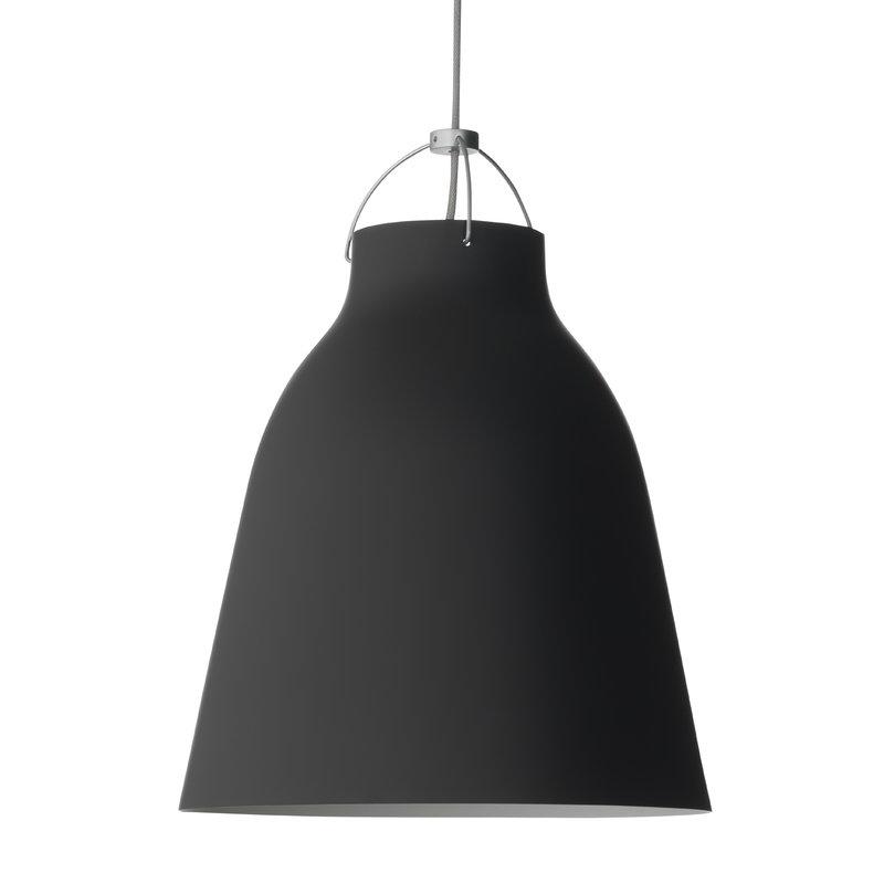Fritz Hansen Lampada Caravaggio P3, nero opaco, cavo 6 m