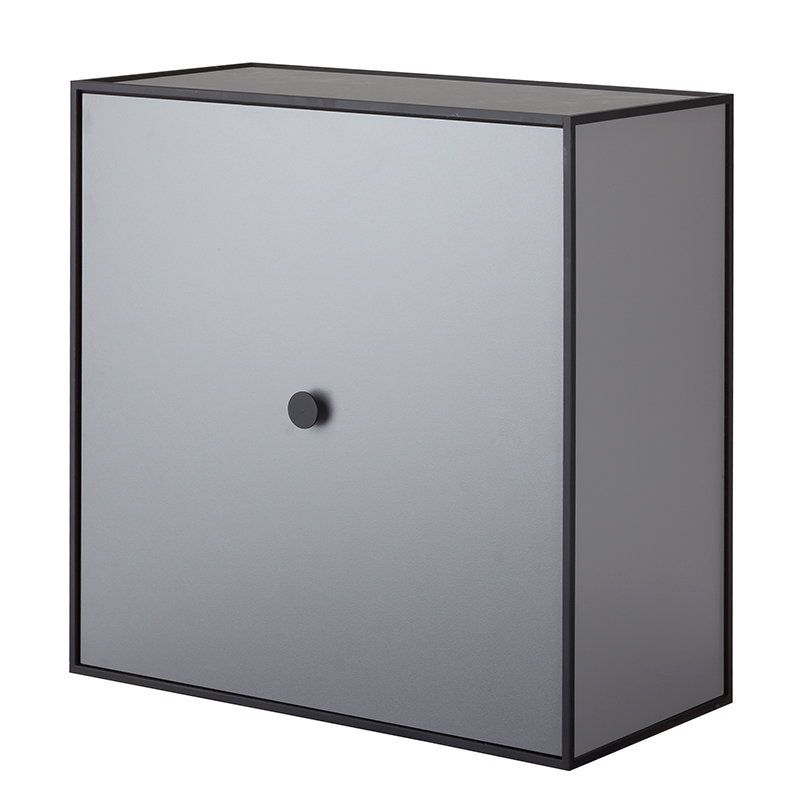 By Lassen Frame 42 box with door, dark grey