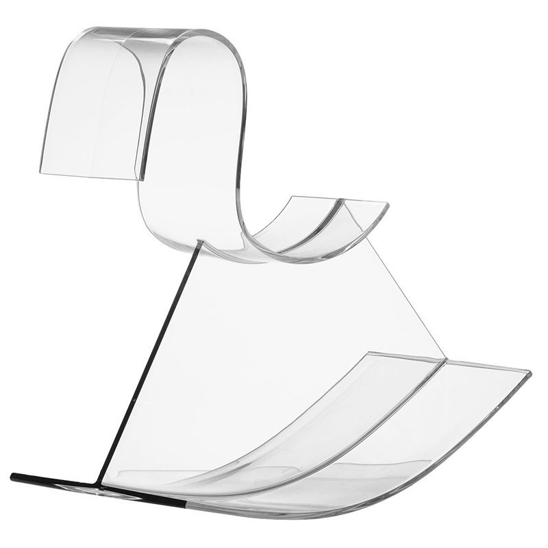 Kartell H-Horse rocking horse, clear
