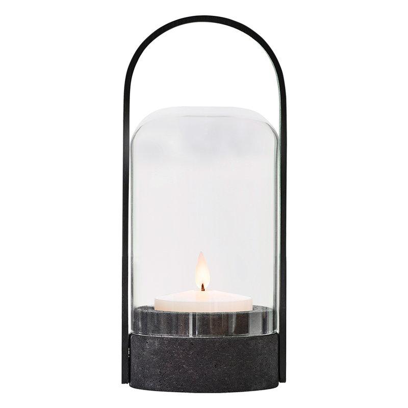 Le Klint Candlelight lantern, black cork