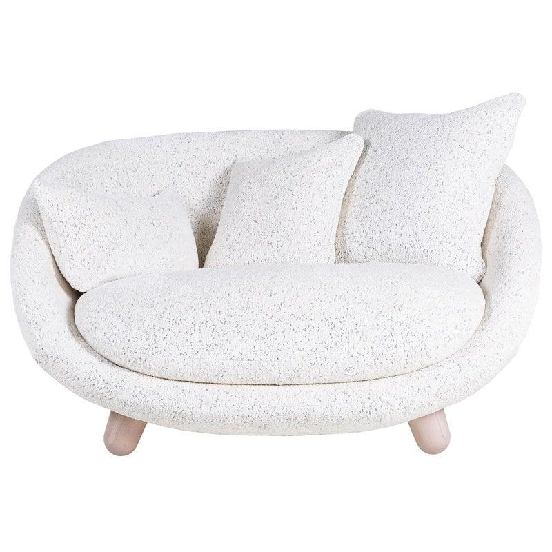 Moooi Love sofa, Dodo Pavone Jacquard