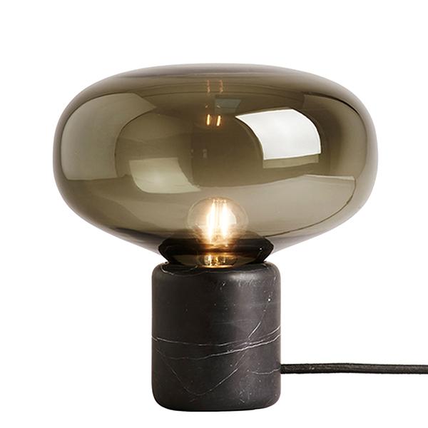 Karl Johan Table Lamp, Black Marble
