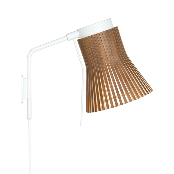 Secto Design Petite 4630 wall lamp, walnut