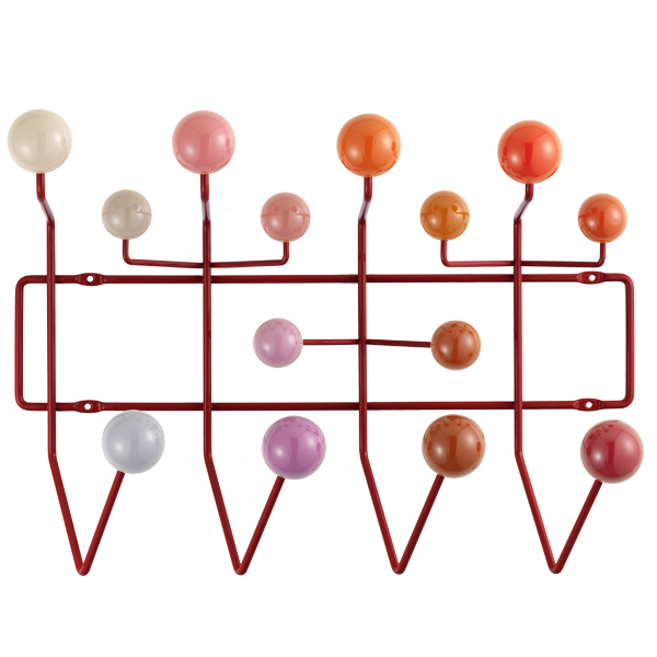 Vitra Hang it all coat rack, red
