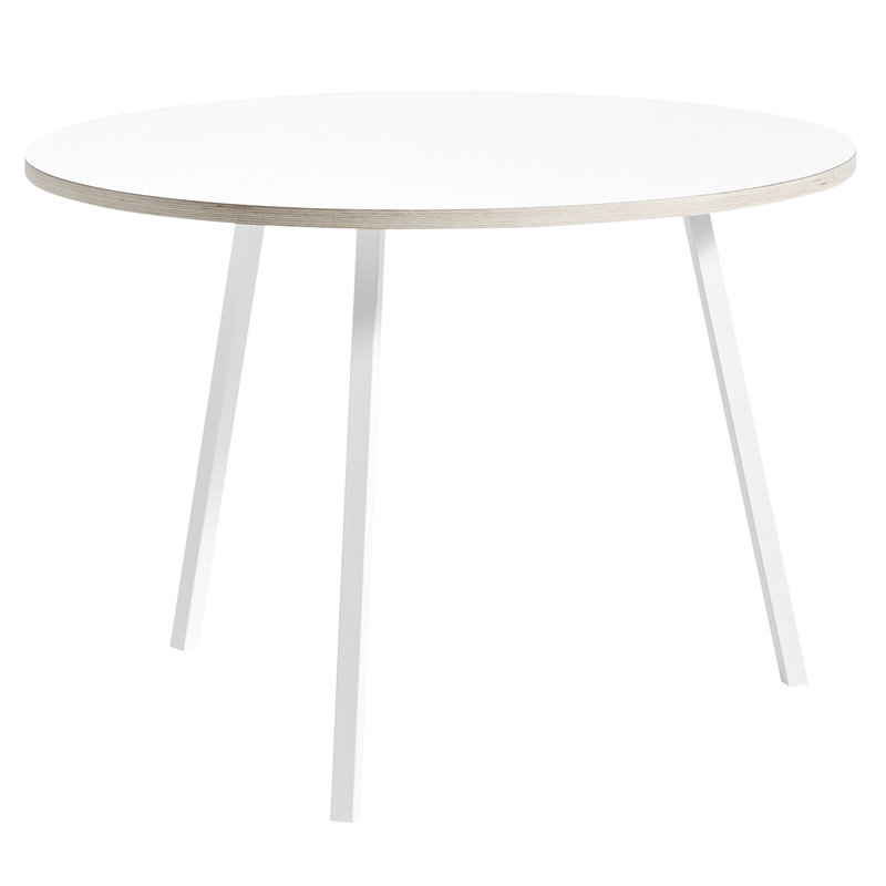 Hay Loop Stand round table 105 cm, white