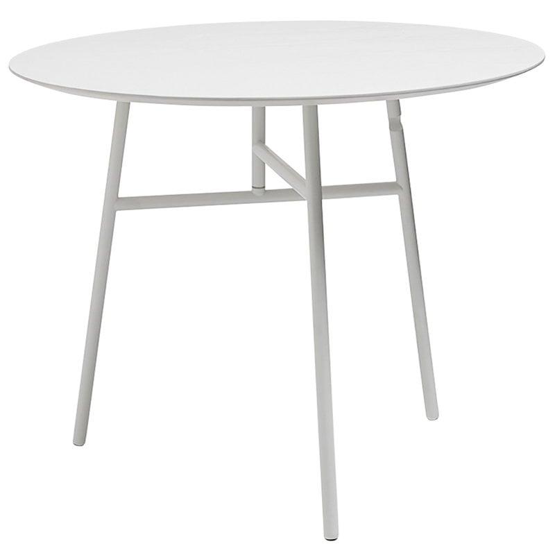 Hay Tilt Top table, white
