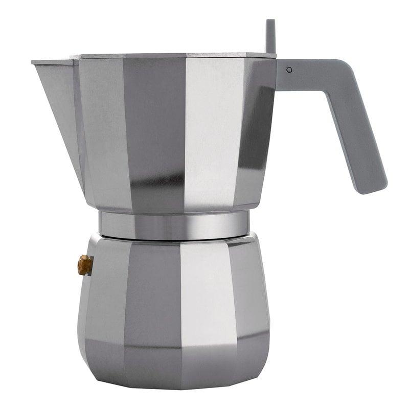 Alessi Caffettiera espresso Moka, 6 tazze