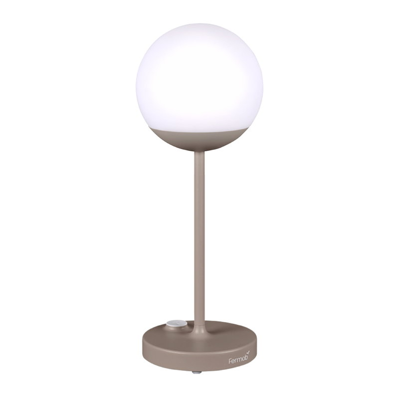 Fermob Mooon! table lamp, nutmeg