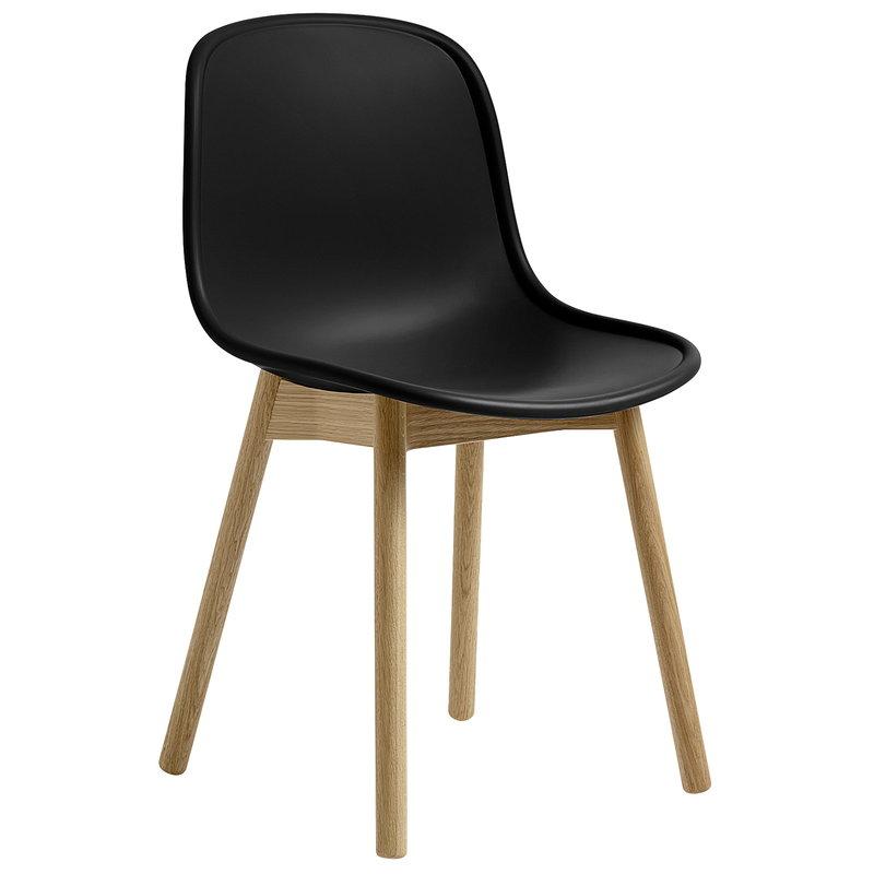 Hay Neu13 tuoli, musta - mattalakattu tammi