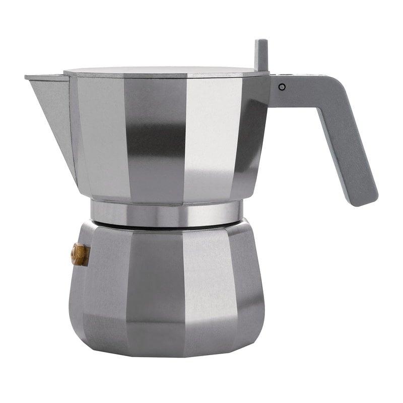 Alessi Caffettiera espresso Moka, 3 tazze