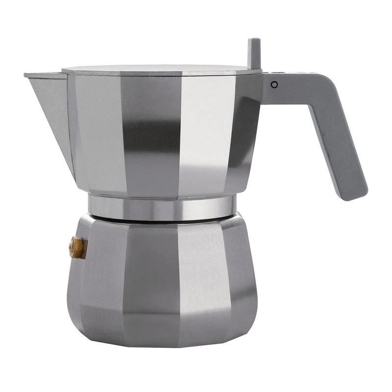 Alessi Moka espressopannu, 3 kuppia