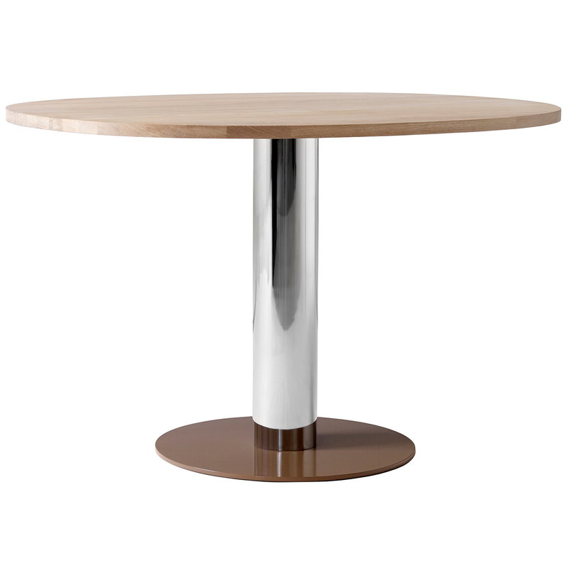 &Tradition Mezcla JH22 dining table, oak - chrome - clay