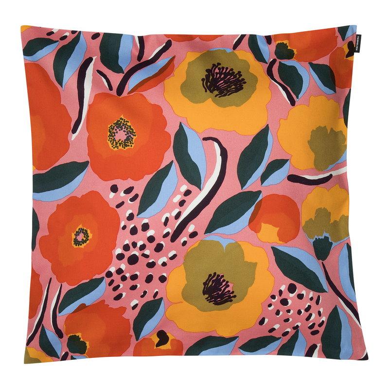 Marimekko Rosarium tyynynpäällinen 50 x 50 cm, pinkki