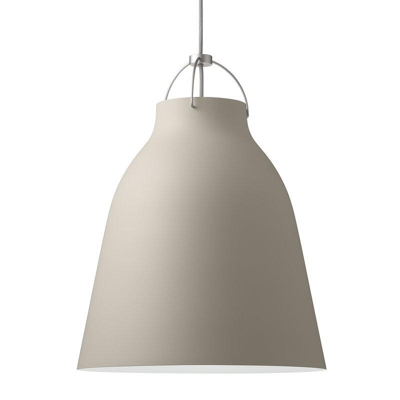 Fritz Hansen Caravaggio P3 pendant, warm silk, 6 m cord
