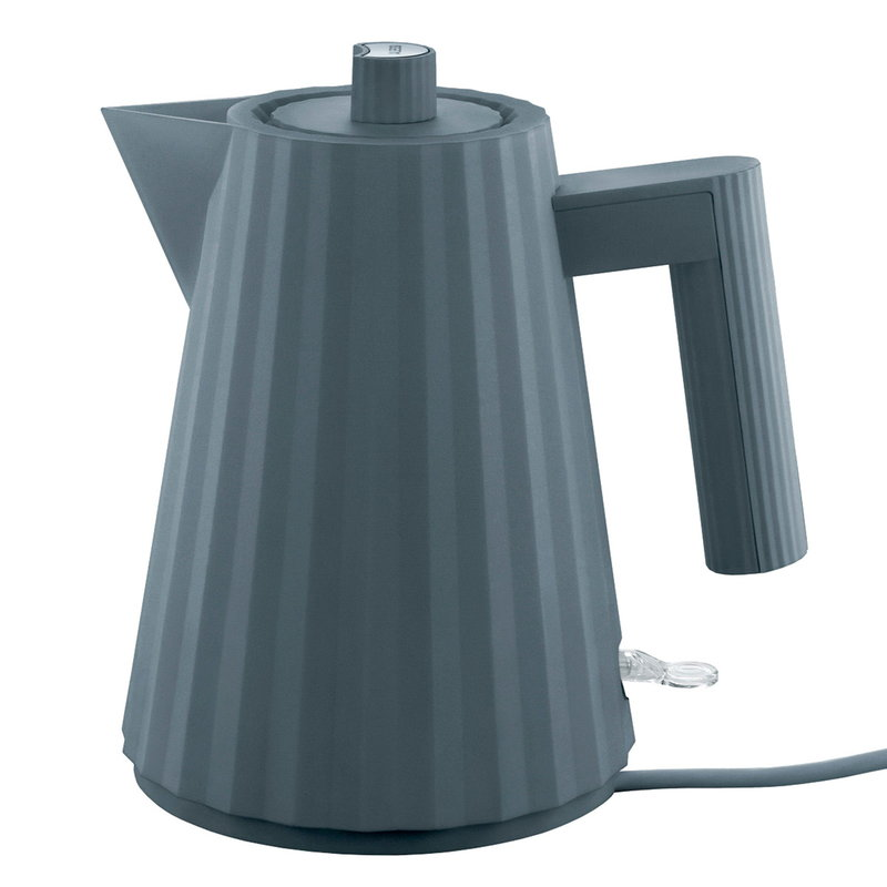 Alessi Plissé electric kettle 1 L, grey