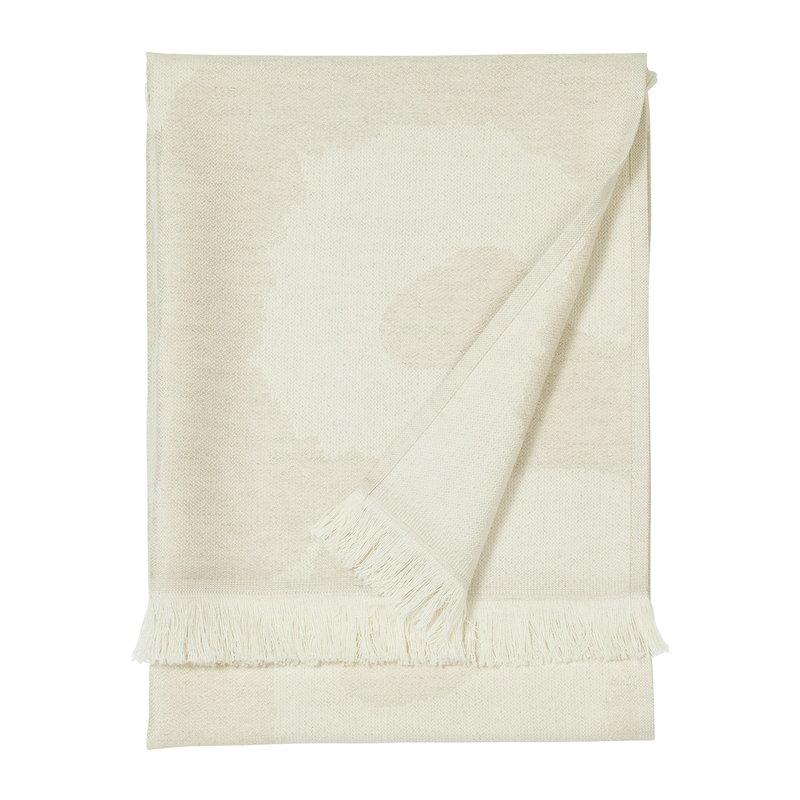 Marimekko Unikko Hamam hand towel, off white-beige