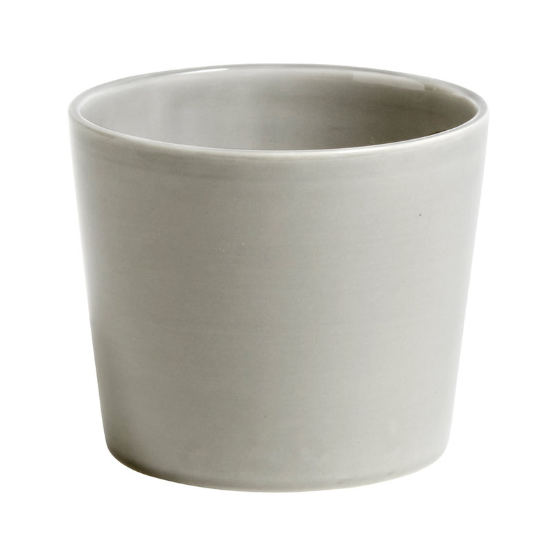 Hay Botanical Family pot, M, light grey