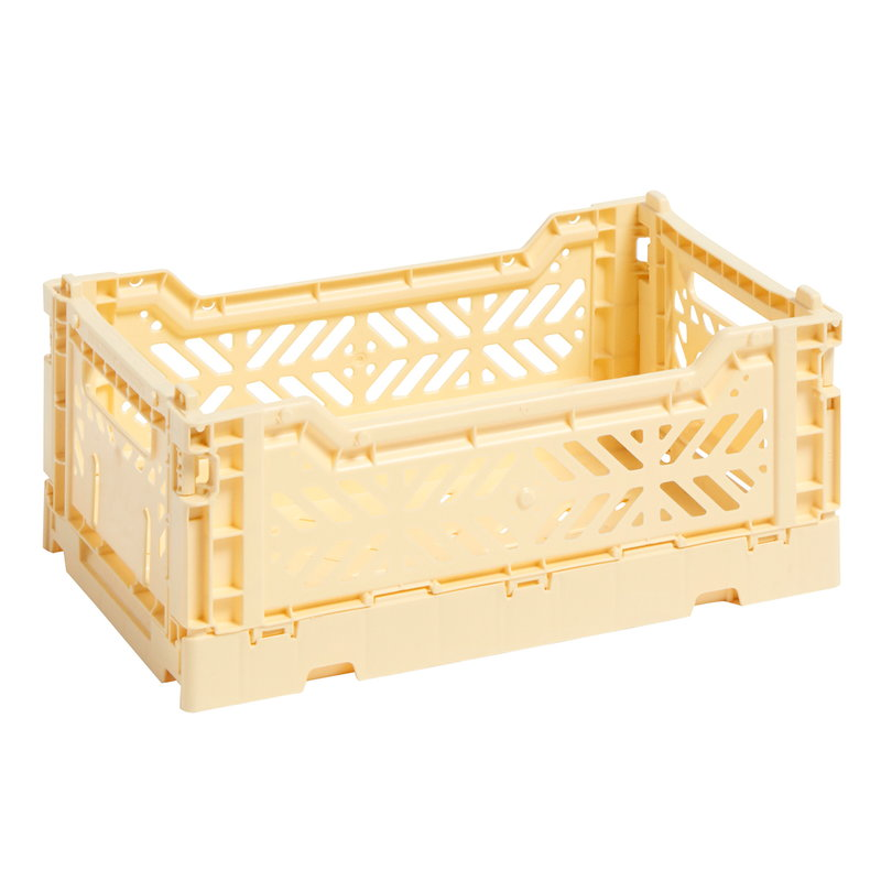 Hay Colour crate, S, light yellow
