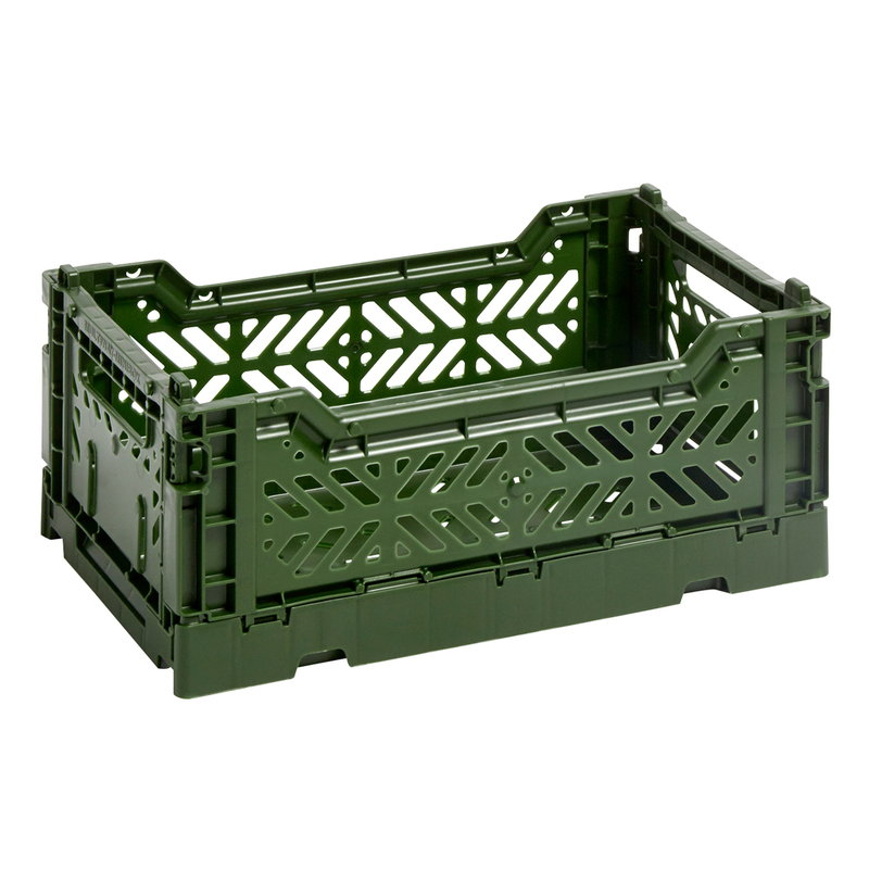 Hay Colour crate, S, khaki