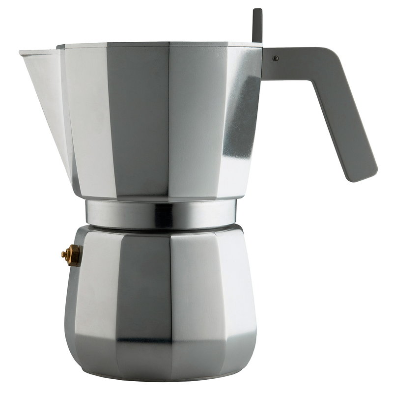 Alessi Moka espresso maker, 9 cups