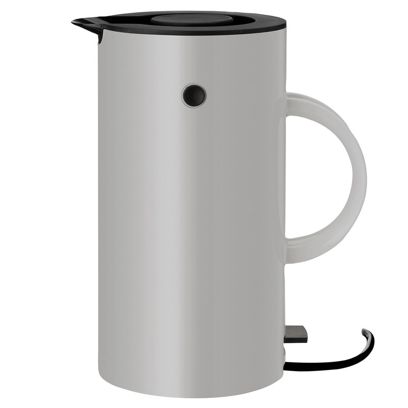 Stelton EM77 electric kettle, light grey