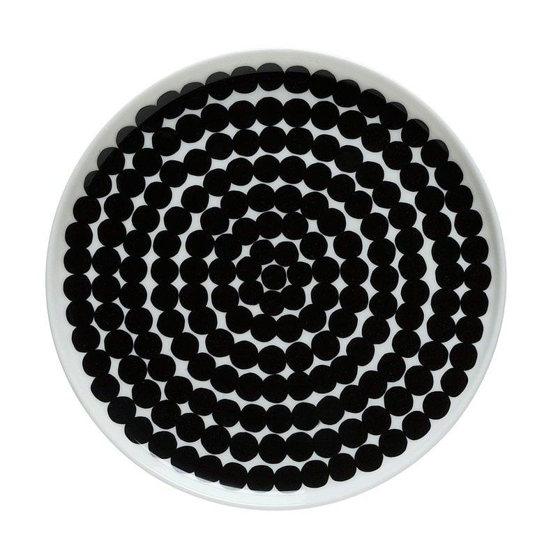 Marimekko Oiva - Siirtolapuutarha Räsymatto plate 20 cm