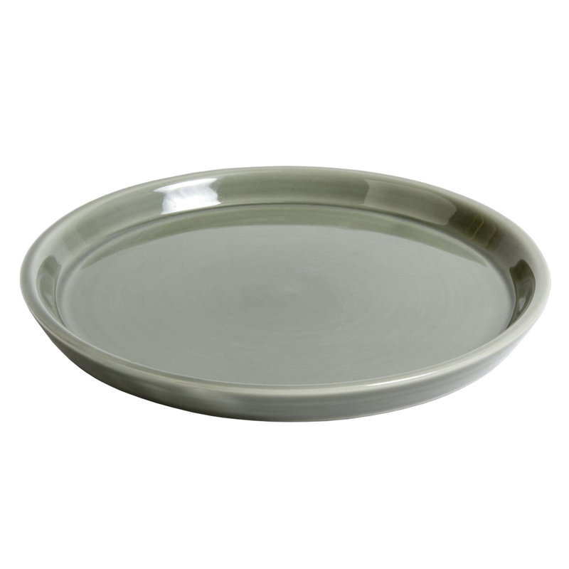 Hay Botanical Family saucer, L, dusty green