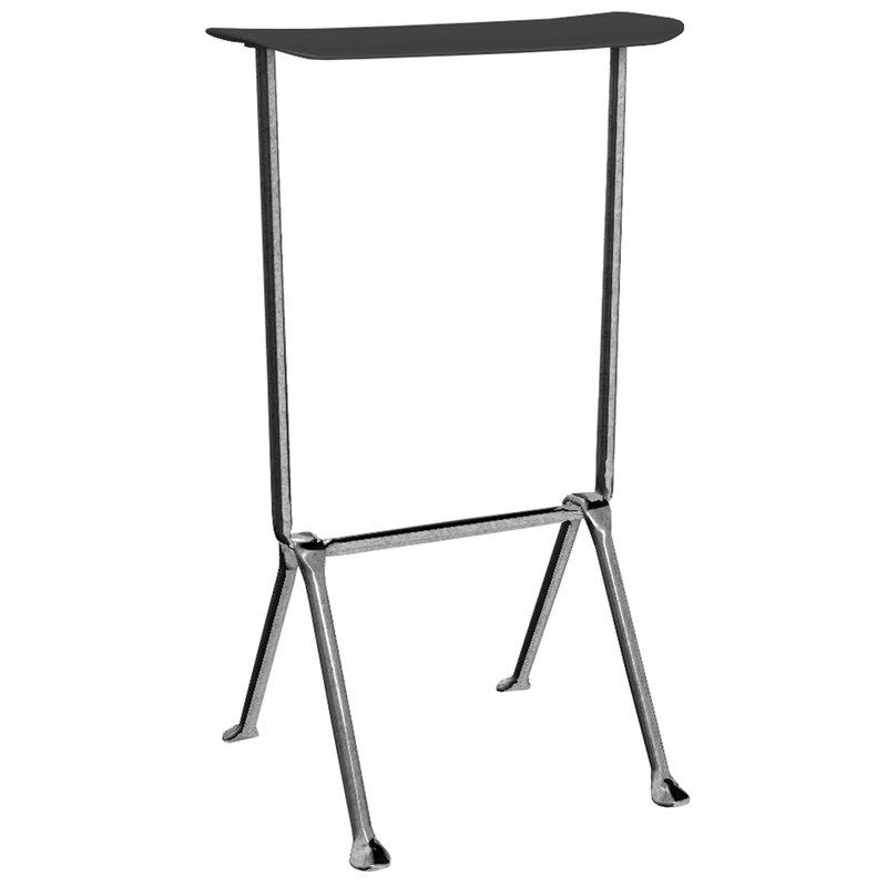 Magis Officina bar stool, high, galvanized, black