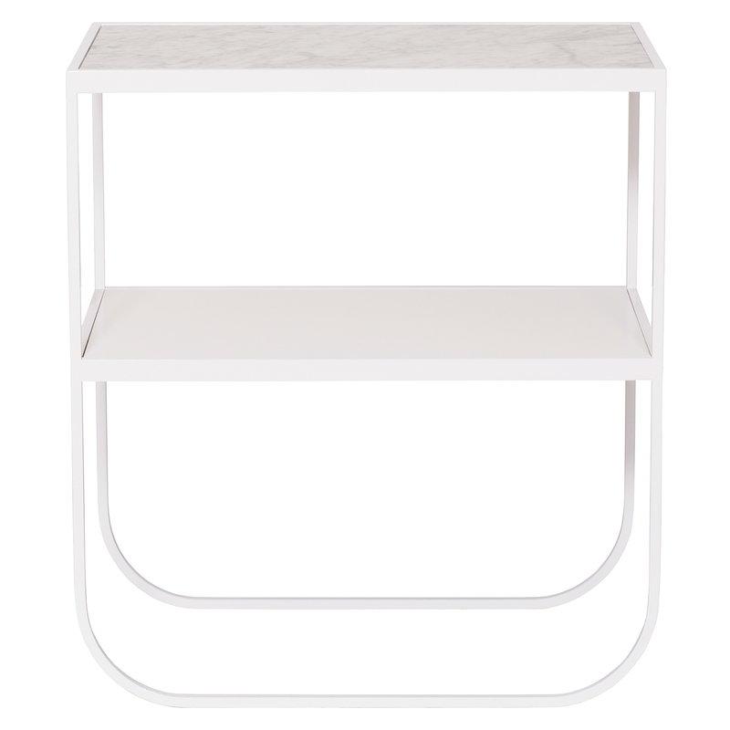 Asplund Tati Console 65 sivupöytä, Carrara - valkoinen