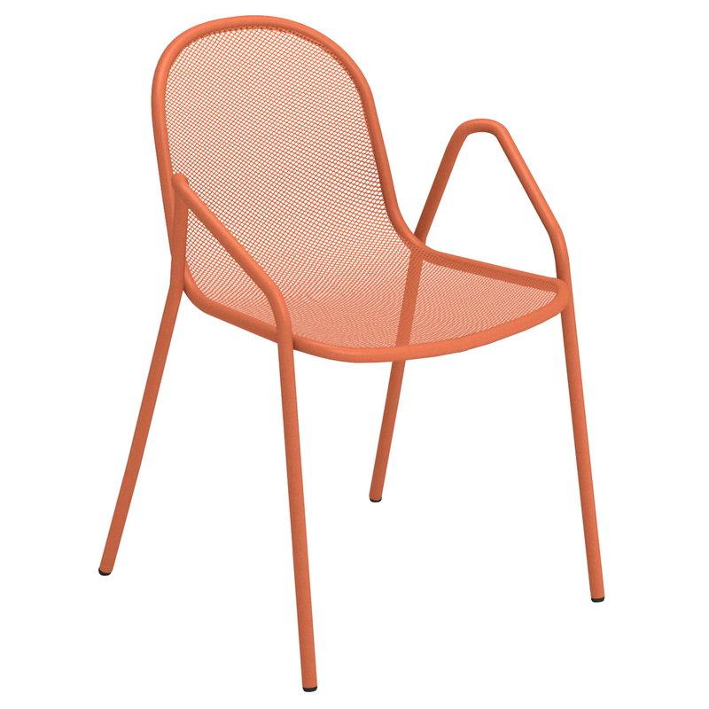 Emu Nova armchair, maple red