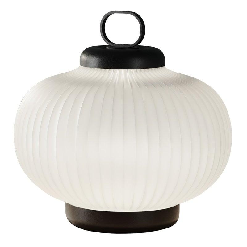 FontanaArte Kanji pöytävalaisin 39 cm, valkoinen