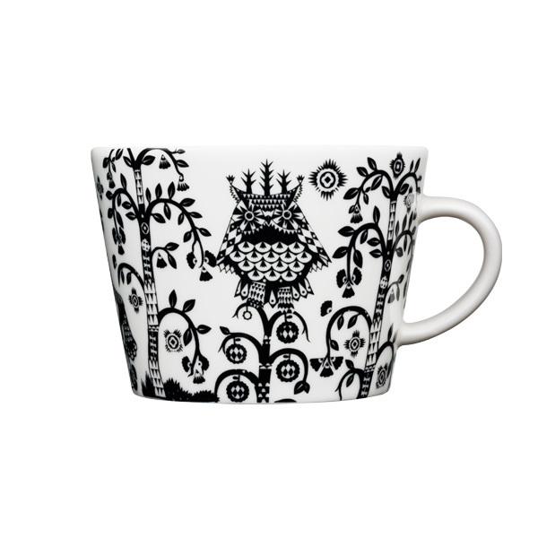 Iittala Taika cappuccino cup 0,2 l, black
